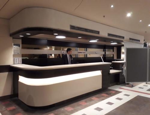 Crowne Plaza Athens Hotel – Reception area